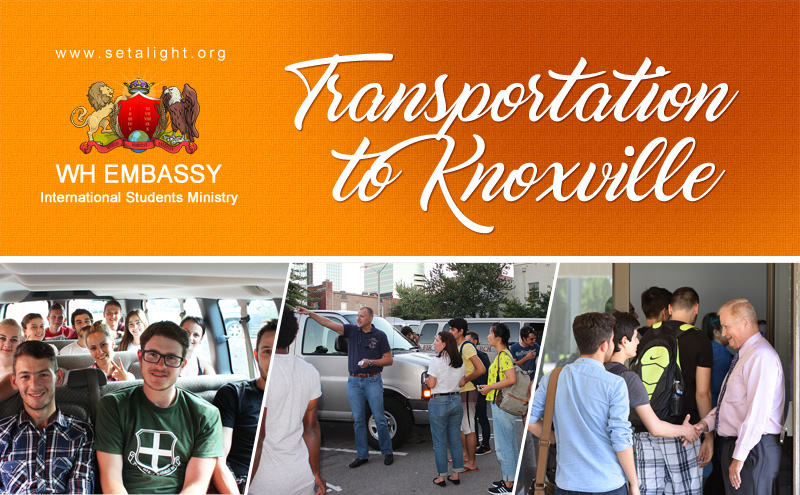 KNOXVILLE TOUR: SSN ADMINISTRATION, MALL, DOWNTOWN & DINNER